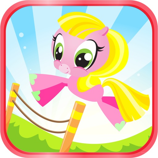 Ace Pony Jumping Free - Choose your friends in this fun kids game