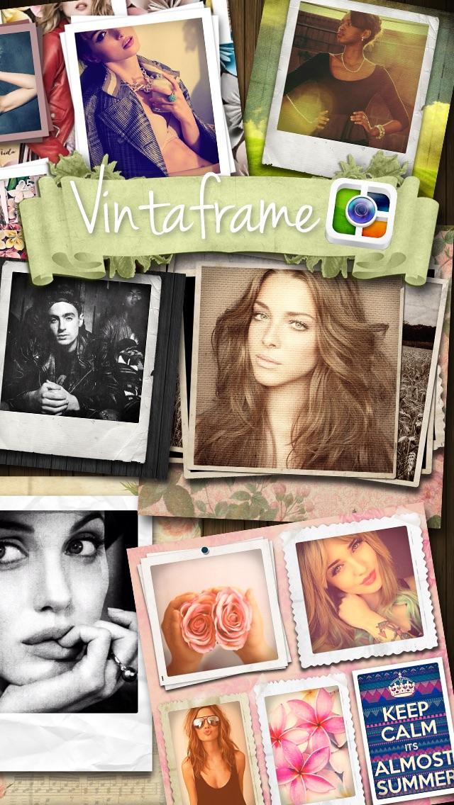 Vintaframe Free - Fotocollage & Rahmen für Instagram. App ...