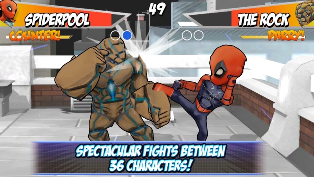 Superheros 2 Free fighting games hack tool