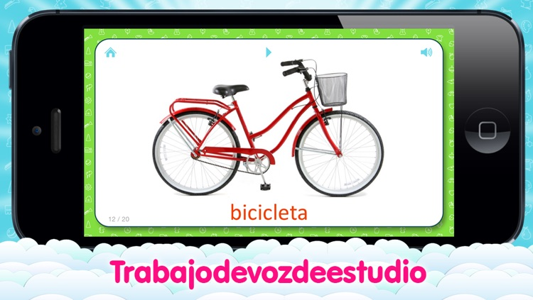 Spanish Flashcards for Kids and logic game «Find a Picture» screenshot-3