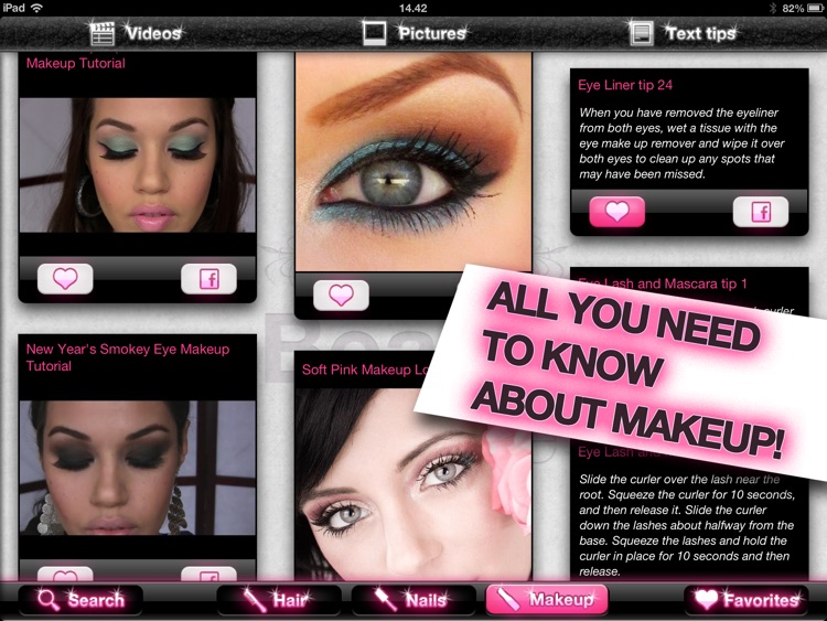 My Beauty Bible PRO – Hair, Nails & Makeup screenshot-1
