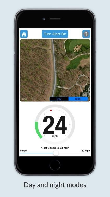 iSpeedAlert - Speed Monitor screenshot-4