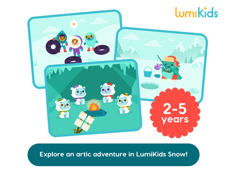 LumiKids Snow, Early Learning Play for Kids screenshot-4