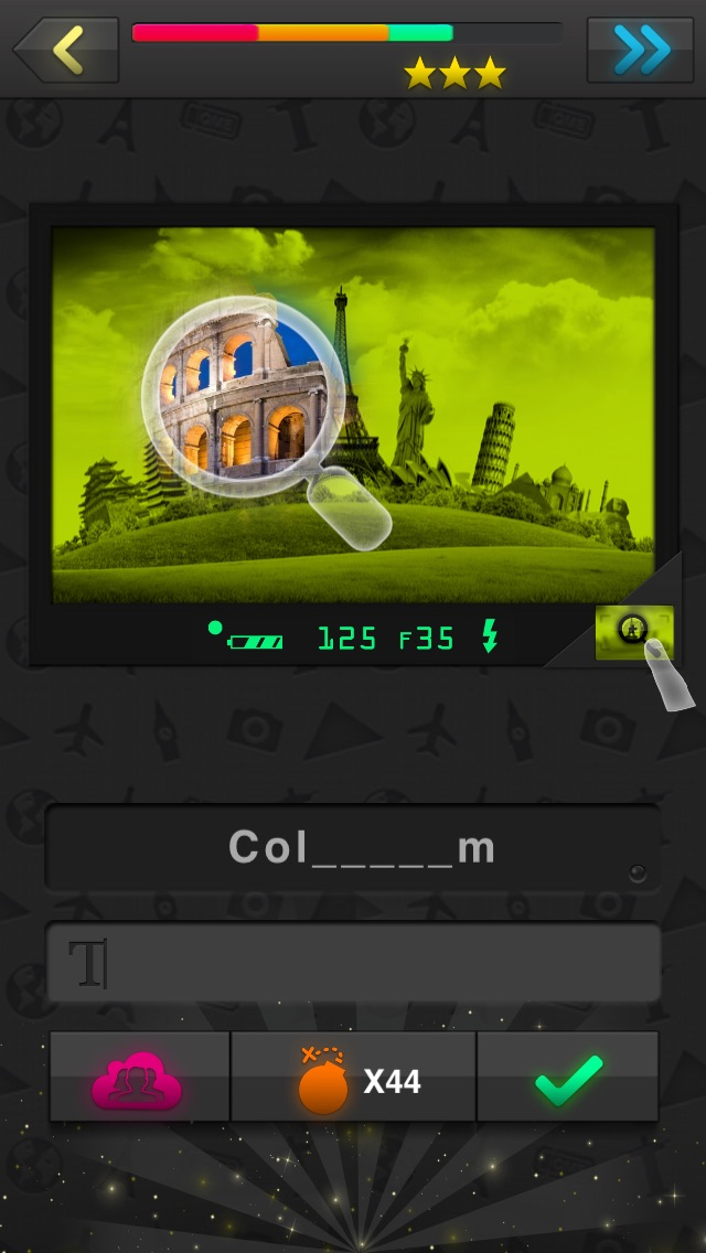 Quizture Landmarks Quiz Screenshot
