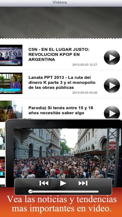 Diarios Argentina: Diarios argentinos screenshot-3