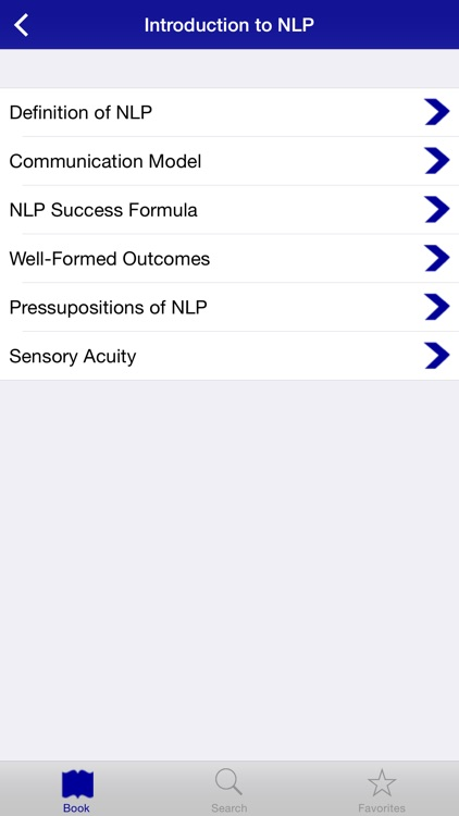 NLP Practitioner Training App screenshot-1