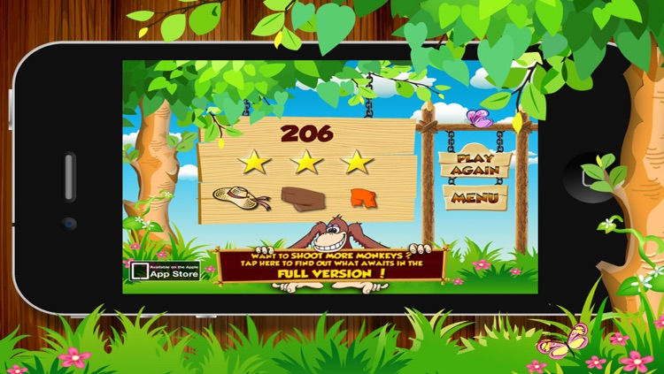 Shoot The Monkey Lite screenshot-4