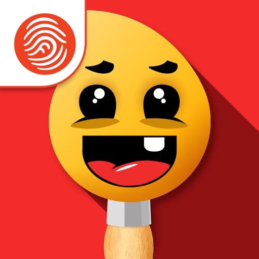 Fingerpainting for Kids - A Fingerprint Network App