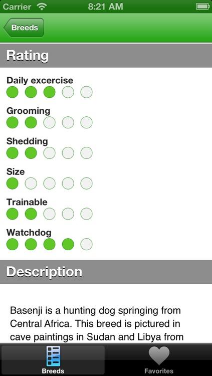 Dog Breed Selector screenshot-3