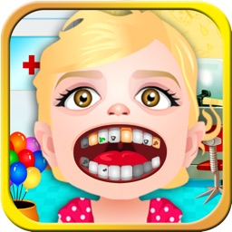 A Little Dentist Office Kids Games - my baby care salon & doctor spa for girls