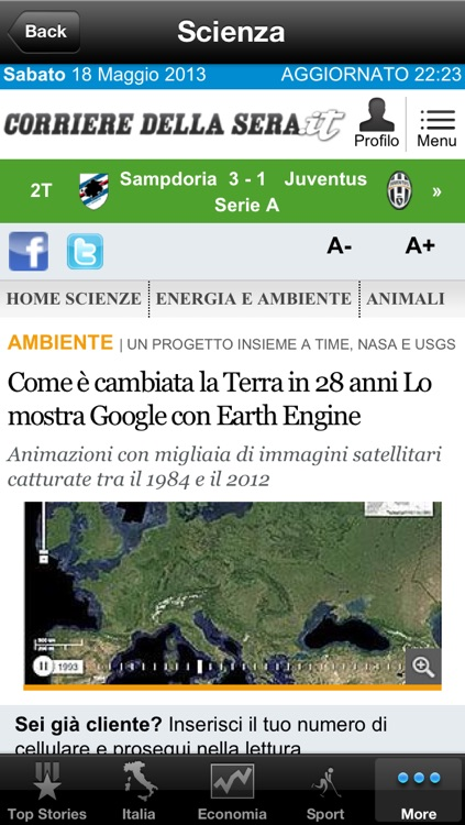 Italy News, Italian Notizie screenshot-3