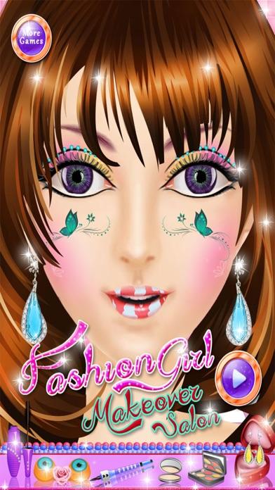 点击获取Fashion Girl Makeup Makeover Girls Game