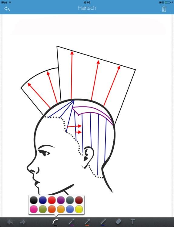 HairTech-Head Sheets