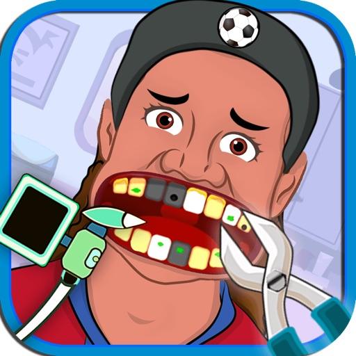 Soccer Hero Dentist - Celebrity Doctor Spa For World Players 2014