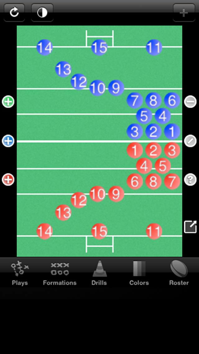 Rugby Coach Pro screenshot one