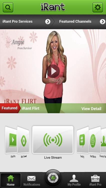 iRant Video Texting screenshot-4