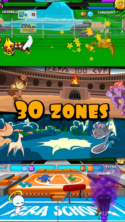 Terapets DeLuxe - Fight Dragon Monsters screenshot-4