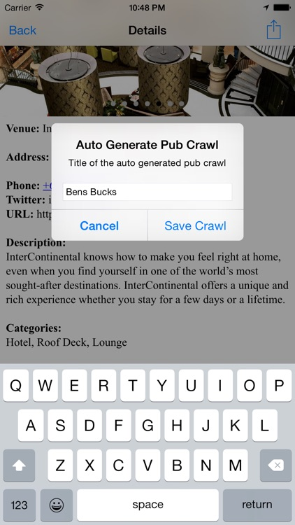 Pub Crawl: Global