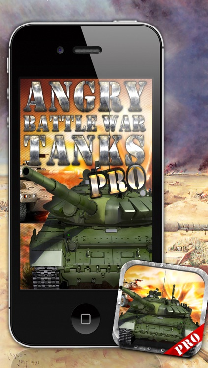 Angry Battle War Tanks PRO - Free Game! screenshot-0