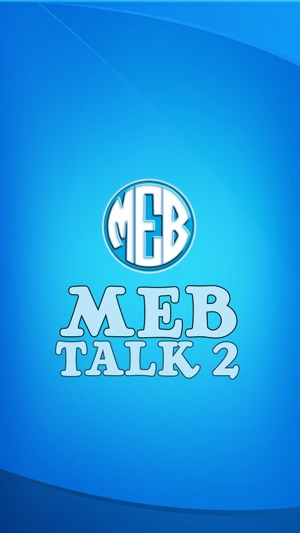 MEB Talk 2 on the App Store