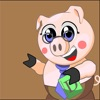 Piggy (puzzle game with the choice of words)