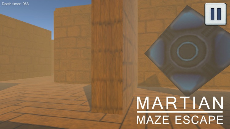 Martian Maze Escape screenshot-1