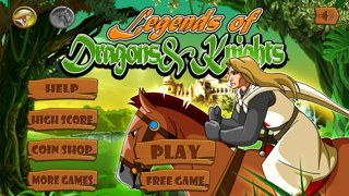 Legends of Dragons & Knights : Multiplayer Medieval Game HD