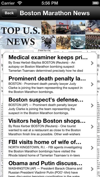 Top U.S. News