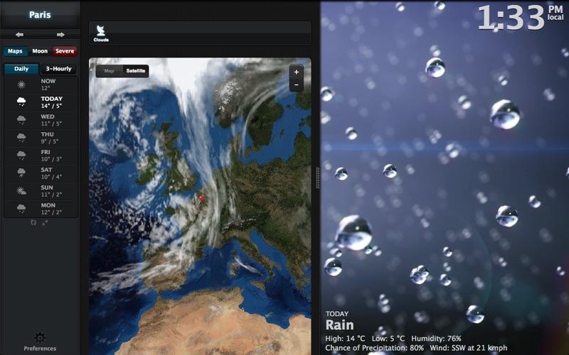Clear Day® - Анимированная погода (Weather HD) скриншот программы 3