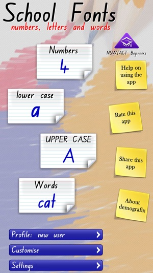 School Fonts - Learn to write (AU/NZ) Free on the App Store
