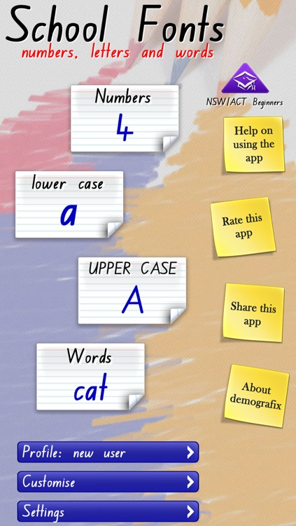 School Fonts - Learn to write (AU/NZ) Free screenshot-0
