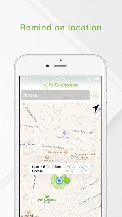 To Do Checklist - Share Tasks & Location Reminders screenshot-4