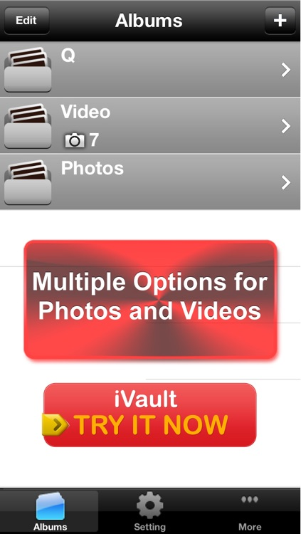 Vault* Free - Hidden Photo & Video Safe for iPhone, iPad & iPod Touch screenshot-3