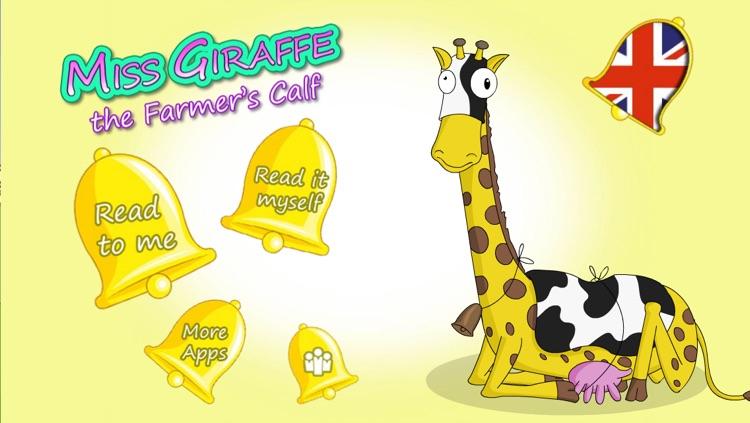 Miss Giraffe the Farmers Calf - Animoolz screenshot-3