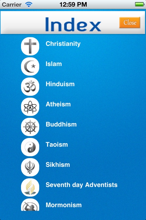 Religions screenshot-2