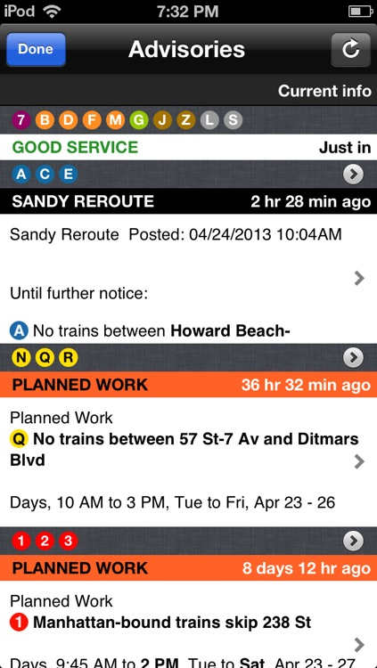 NYC Subway Trip Planner - Works Offline screenshot-3