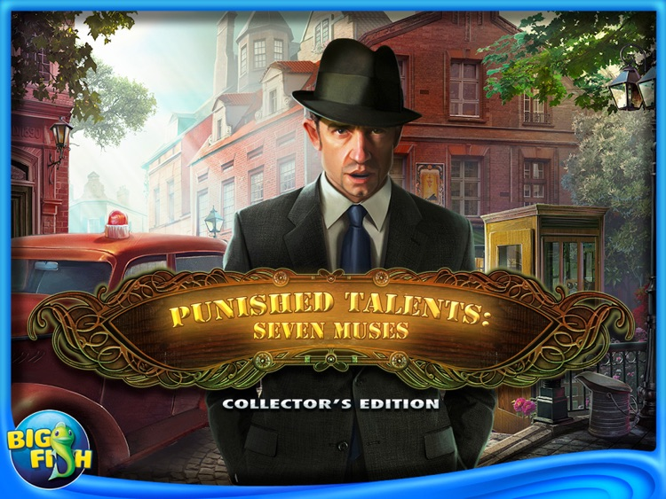 Punished Talents: Seven Muses HD - A Hidden Objects, Adventure & Mystery Game screenshot-4