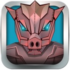 Angry Flying Iron Piggies - Real Steel Sky Runner icon