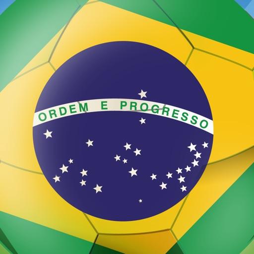 Baixar FanPic App Football - Copa do Mundo para fãs de futebol da equipe nacional do Brasil 2014, com molduras, imagens, edição, cabine de fotos. Para o campeonato, jogos, resultados, notícias, pontuação, cronograma, horários, liga, ao vivo