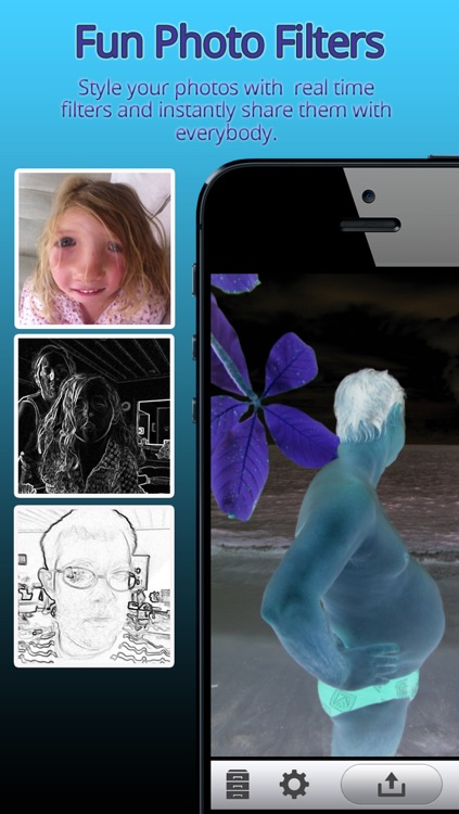 Photo FX - Funny special camera effects booth for Facebook and Twitter