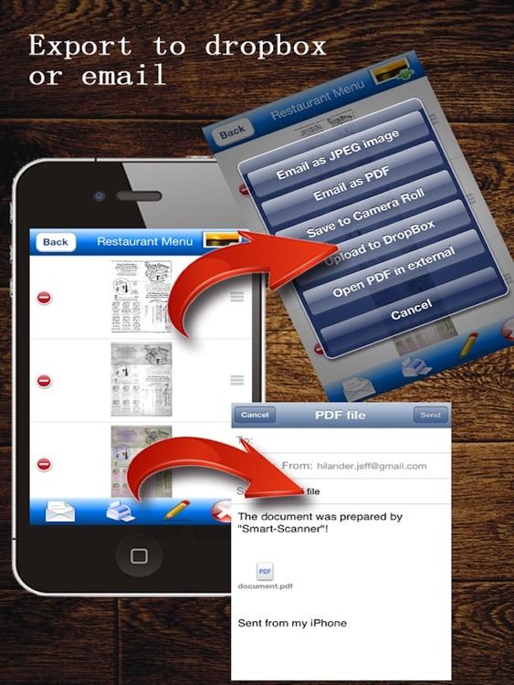 MyScan HD: scan document into PDFs screenshot-4
