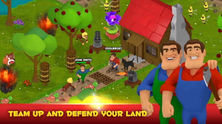 Battle Bros - Tower Defense screenshot-0