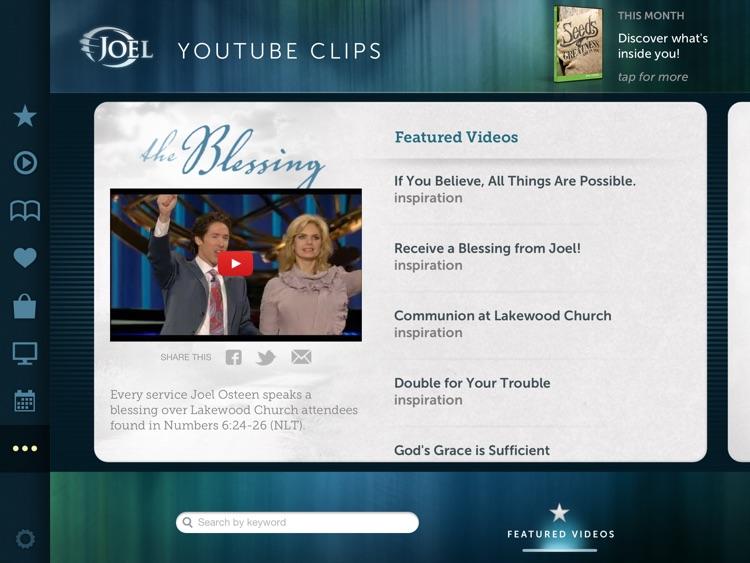 Joel Osteen for iPad screenshot-3