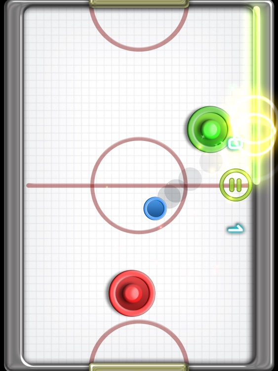 Glow Hockey 2 HD FREE screenshot-4