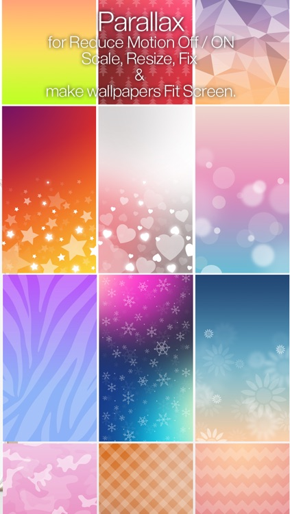 New Wallpaper Pro : for iOS7 & Parallax ( Blur & Pattern Custom themes : by YoungGam.com ) screenshot-4