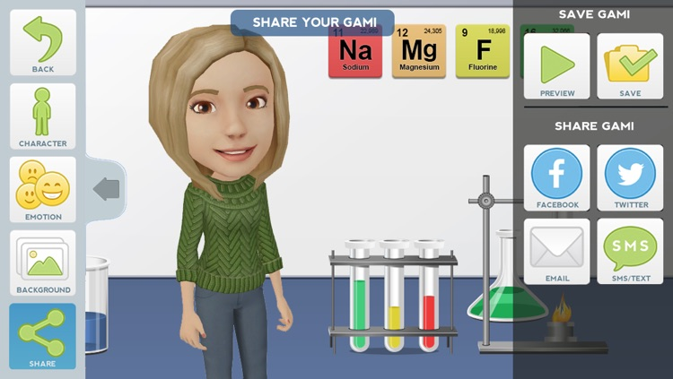 Tellagami Edu screenshot-4