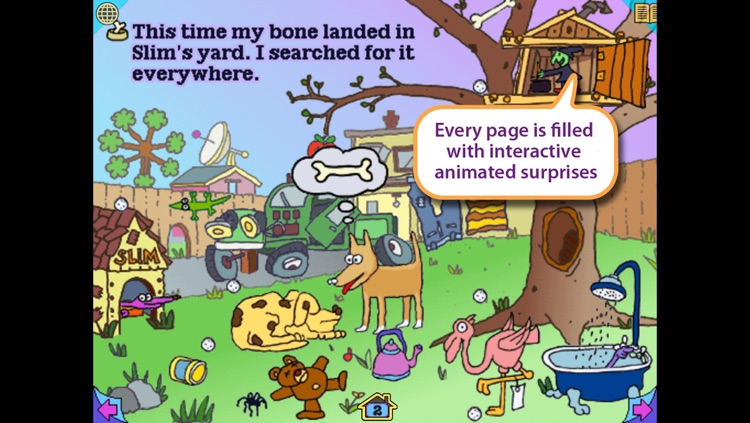 Ruff's Bone - interactive storybook in English and Spanish screenshot-3