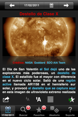 APODViewer - view NASA's Astronomy Picture of the Day screenshot 1