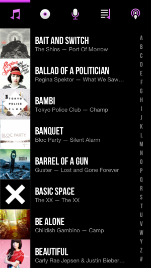 ‎CarTunes Music Player Screenshot