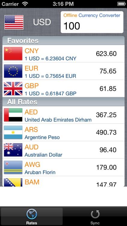 Offline Currency Converter